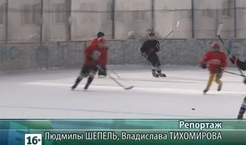Первенство муниципального района по хоккею