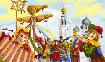 Городской праздник Масленицы