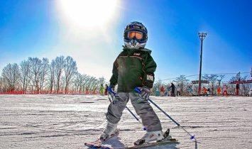 Горные лыжи — гормоны радости!