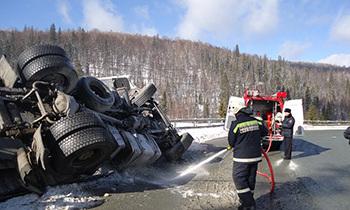Спасатели МЧС России приняли участие в ликвидации ДТП в Белорецком районе
