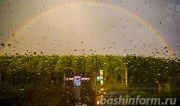 В Башкирии дожди будут идти до конца недели