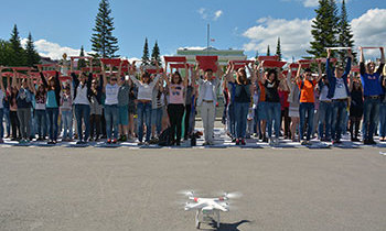 Белоречане приняли участие во флешмобе против СПИДа