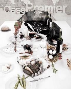 На кухне есть и настоящие художники, подтверждение тому фуд-портрет шеф-повара Рене Редзепи. Для обложки журнала Clase Premier «засервировала» портрет одного из лучших поваров мира.