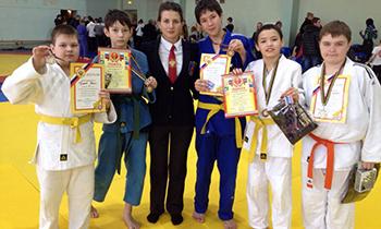 В Магнитогорске прошли соревнования по дзюдо