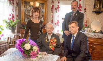 В Белорецком районе ветерану войны вручили сертификат на жильё