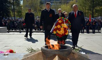 В Белорецком районе прошли торжественные мероприятия в честь Дня Победы