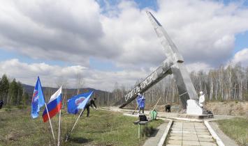 В Белорецком районе прошел субботник у обелиска «Кирка»