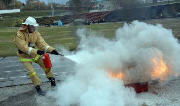 В Белорецке прошел конкурс «Пожарный дозор»
