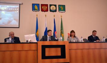 В Белорецке прошло первое заседание Совета городского поселения город Белорецк