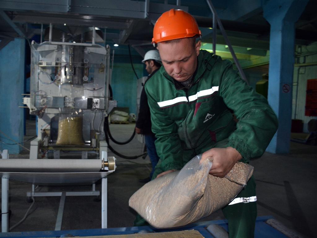 В Белорецком районе запустили линию по производству топливных гранул