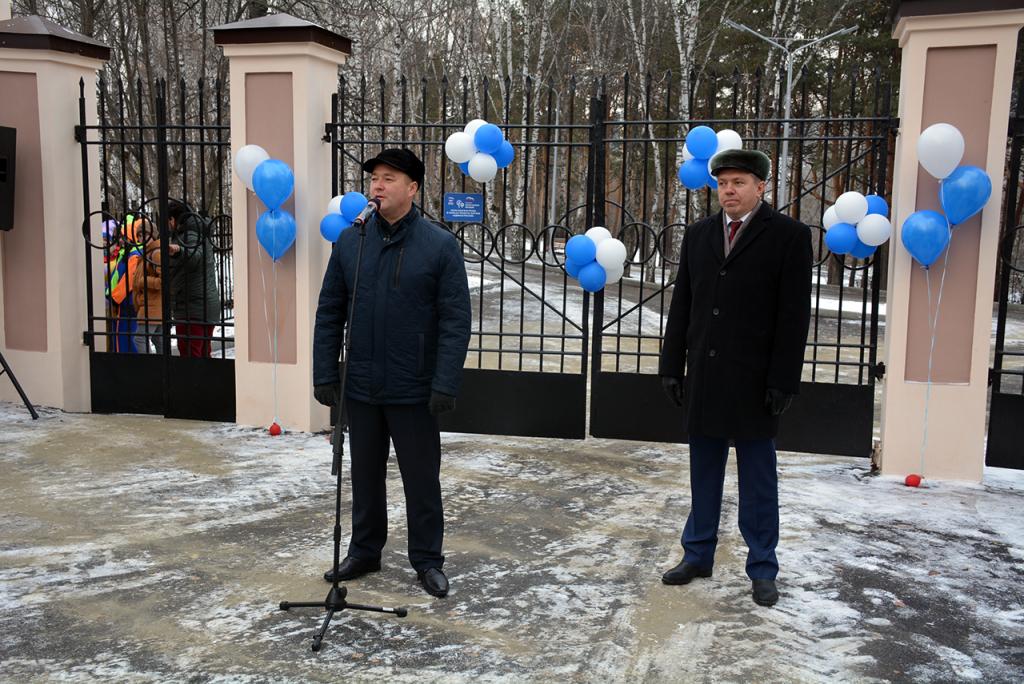 В Белорецке открыли реконструированный городской парк отдыха