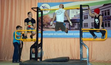 В Белорецке прошла встреча с атлетами Федерации воркаута республики